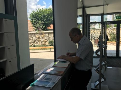 Izraeli nagykövet látogatása a Zsidó Kiválóságok Házában